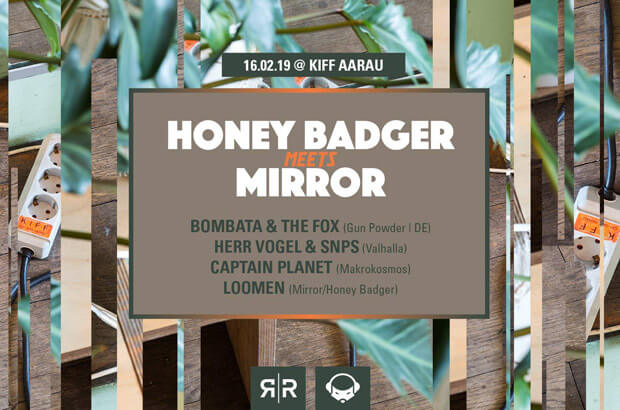 Honey Badger meets Mirror #2